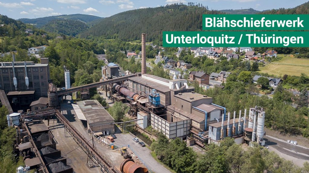 Drehrohrofen Blaehschiefer