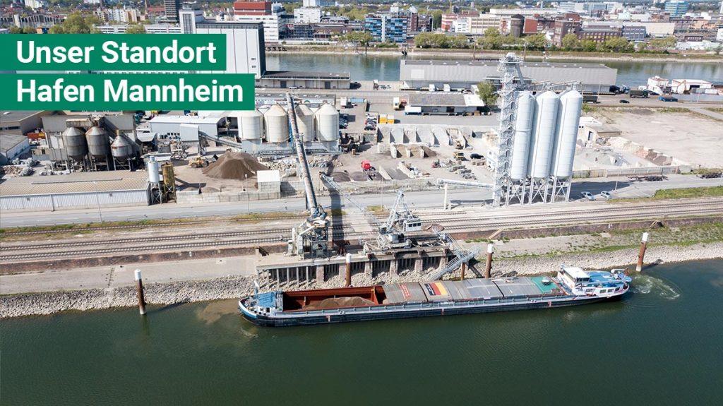 Erdenwerk Firma Link Hafen Mannheim